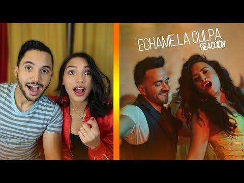 Luis Fonsi, Demi Lovato - Échame La Culpa (VIDEO REACCIÓN) | Adolfo Lora