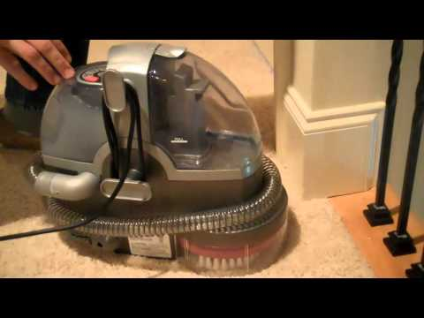 Bissell SpotBot Deep Pet Cleaner: Trying it Out