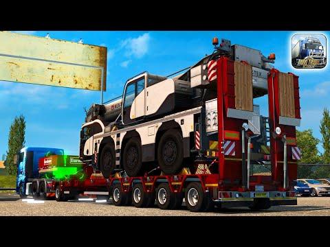 Heavy Cargo Haul ! (Euro Truck Simulator 2) ETS2