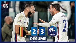 Belgique 2 3 France le re sume Demi Finale UEFA Nations League I FFF 2021