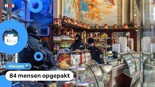 Grote politie-actie tegen de maffia