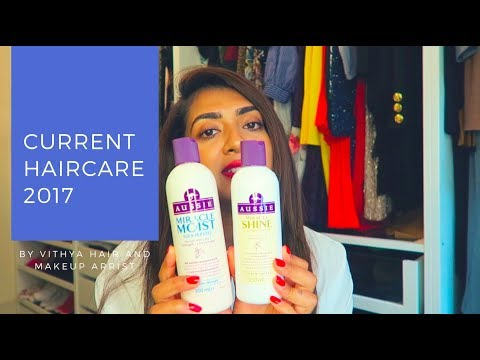 Current Haircare Routine   2017   Vithya Hair and Makeup Artist