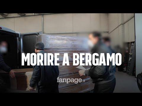 """Morire di Coronavirus a Bergamo: """"Una sepoltura ogni mezz'ora, numeri quasi da guerra"""""""