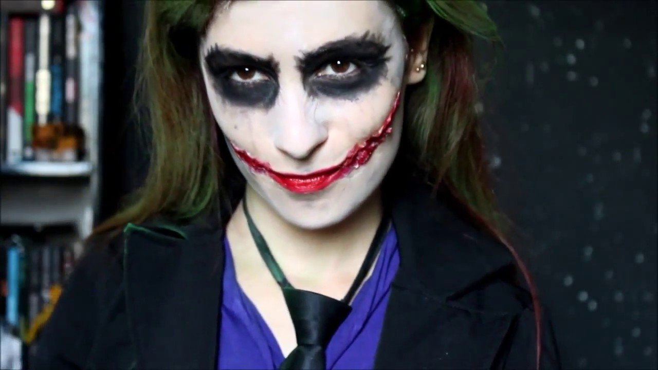 رسم وجه الجوكر Halloween Youtube