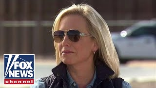 Nielsen holds briefing on the caravan at US border