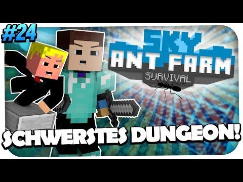 MINECRAFT SKY ANT FARM - SCHWERSTES DUNGEON DER WELT! [MIT GOMMEHD] [HD]