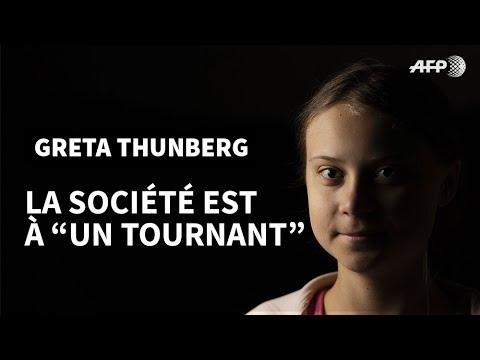 AFP: Greta Thunberg à l'AFP: les dirigeants politiques