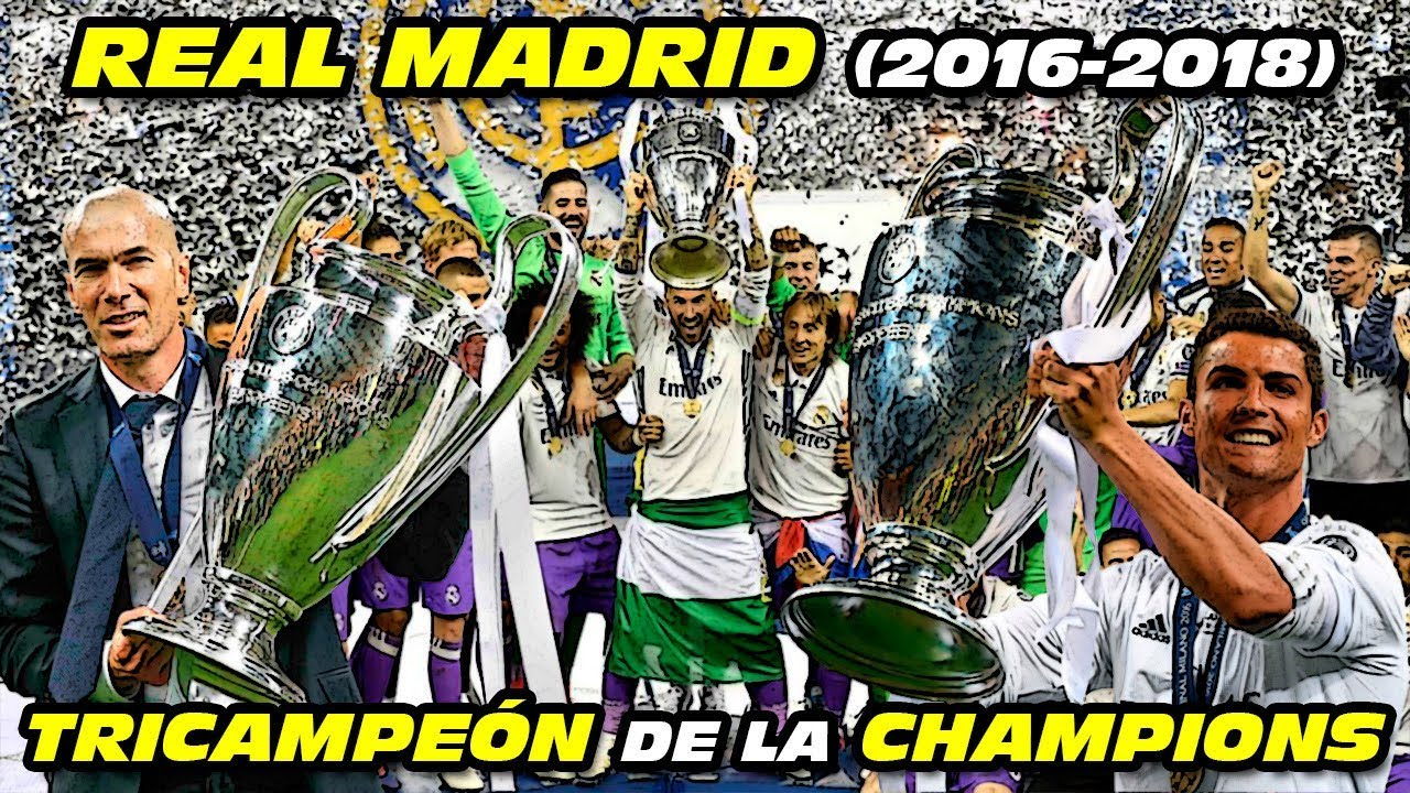 REAL MADRID TRICAMPEÓN ??? de la CHAMPIONS LEAGUE (2016-2018)