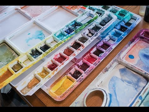 Easier Negative Painting in Watercolour: Live Broadcast Recording