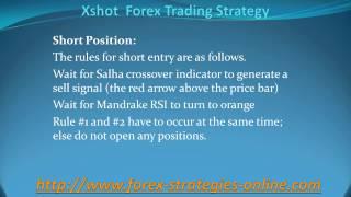 Xshot  Forex Trading Strategy