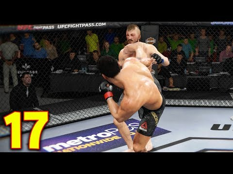 UFC 3 GOAT Career Mode - Right To The Face! EA Sports UFC 3 Gameplay PS4 - Part 17