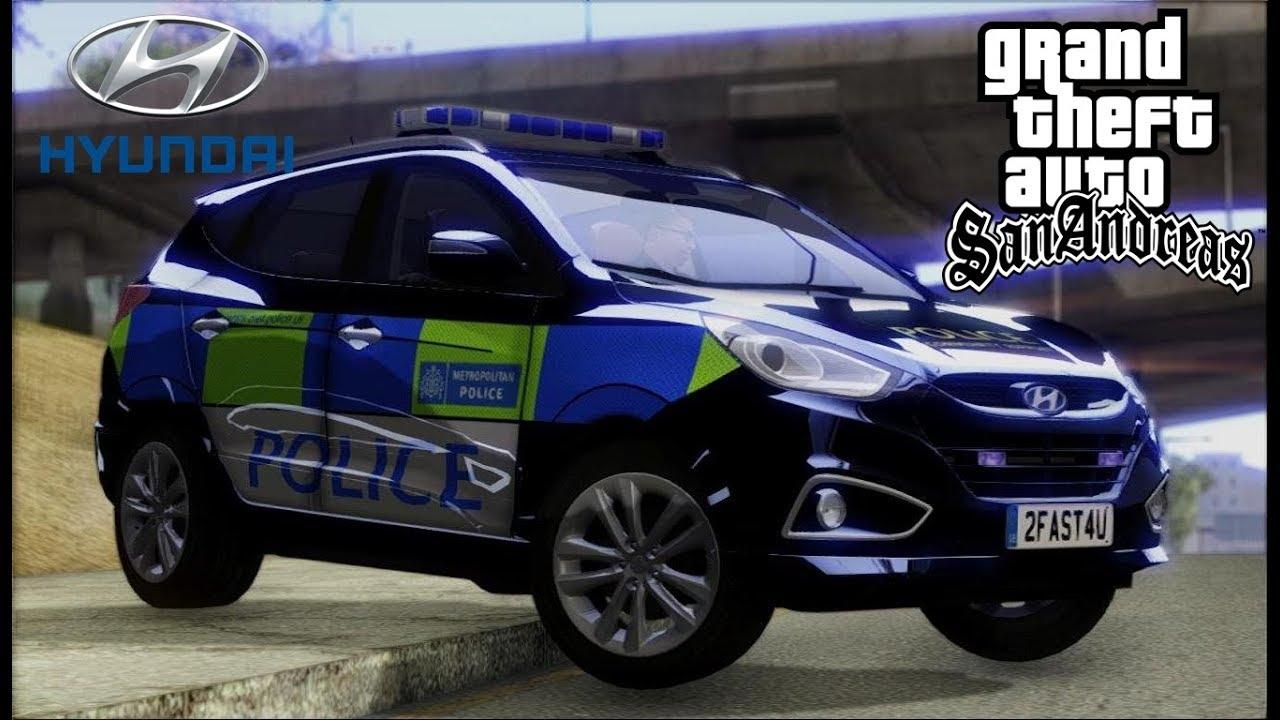 Hyundai Ix35 Metropolitan Police Uk Gta Sa Youtube