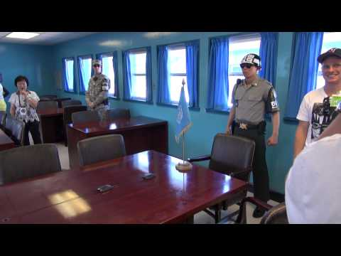 Inside the conference room at Panmunjeom [DMZ]