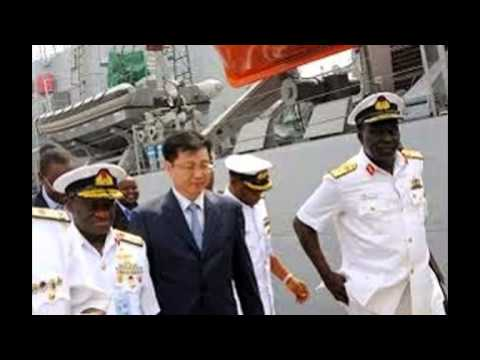 China Ship building  launched Nigerian Navy's offshore  Patrol Vessels- by Okey Eze