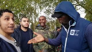 P1 I Am Bigger Than Your God! Shamsi Vs Christian Preacher Speakers Corner Hyde Park