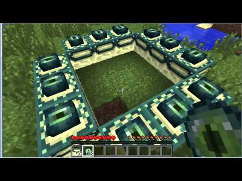 como hacer el portal al ender dragon en minecraft ps3