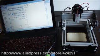 Laser_AS-3 , 500MW laser machine , DIY mini laser engraving machine, Mini marking machine