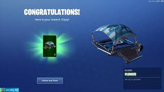 "Fortnite: Challenges/ nBKg unlocks the *NEW* ""Plunder"" glider ( Buccaneer's Bounty) 
