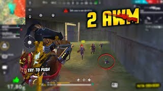 Nepal Chelsi with 2 AWM Best total 21 Kills Squad Gameplay - Garena Free Fire