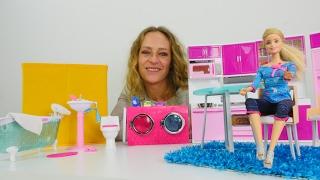 Die Wunderbox - Wir räumen #Barbies neue Möbel ein - Wo ist denn das Badezimmer?