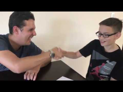 Manny meets Viera Academy