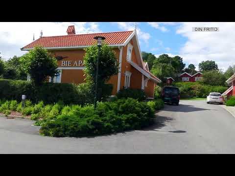 Bynær bobilparkering i Grimstad