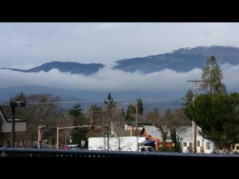 Cloud River - Siskiyou Mountains - Mr Ed Draws Inspiration