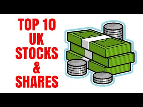 Top 10 UK Stocks And Shares From The London Stock Exchange Smallest To Largest Market Cap 2018