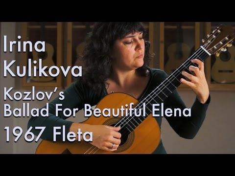 1967 Ignacio Fleta - Irina Kulikova plays Ballad for Beautiful Elena