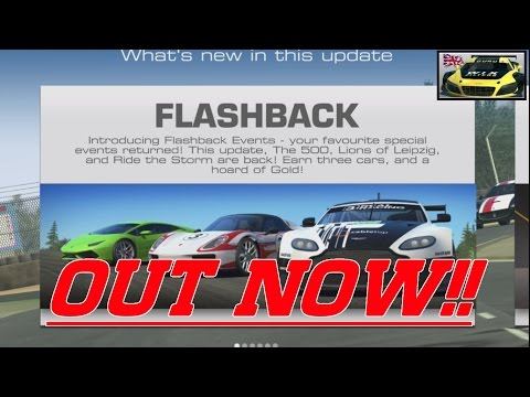 FLASHBACK Update April 2017  Real Racing 3  RR3 OUT NOW!!