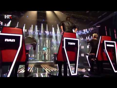 Top 10 blind auditions of The Voice Croatia (season 1)