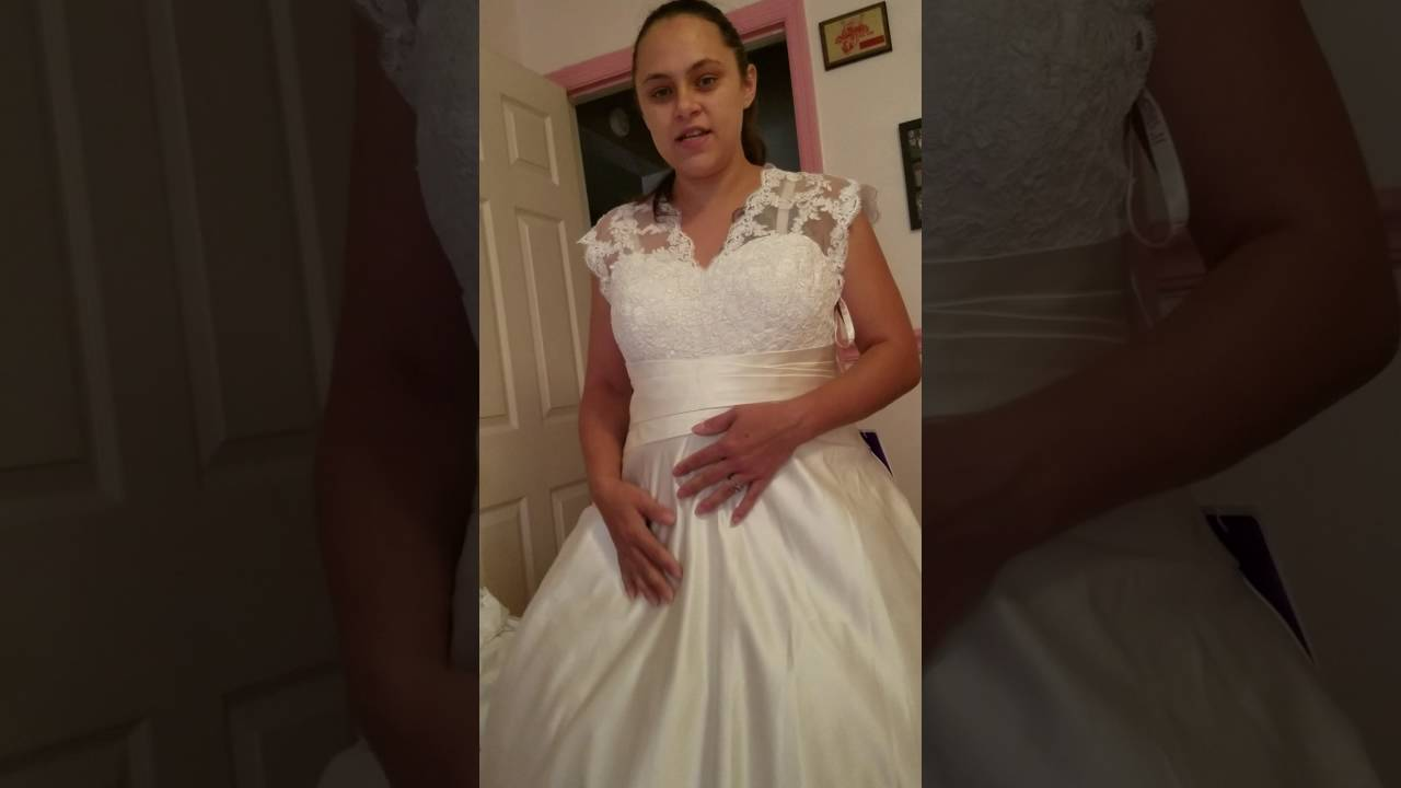JJsHouse Wedding Dress Review - YouTube