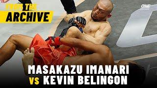 Masakazu Imanari vs. Kevin Belingon | ONE Champion...