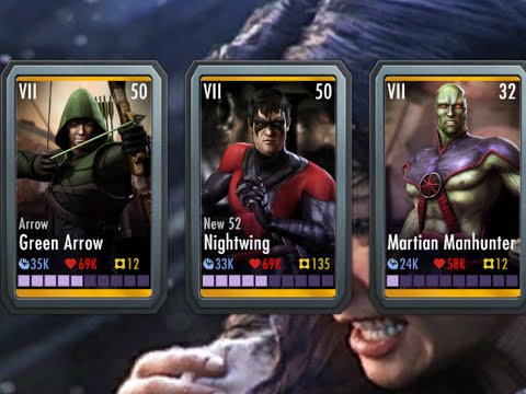Combo Enders- Perfect Team Set-up #6 Injustice
