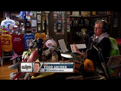 Todd Archer on The Dan Patrick Show (Full Interview) 3/30/17