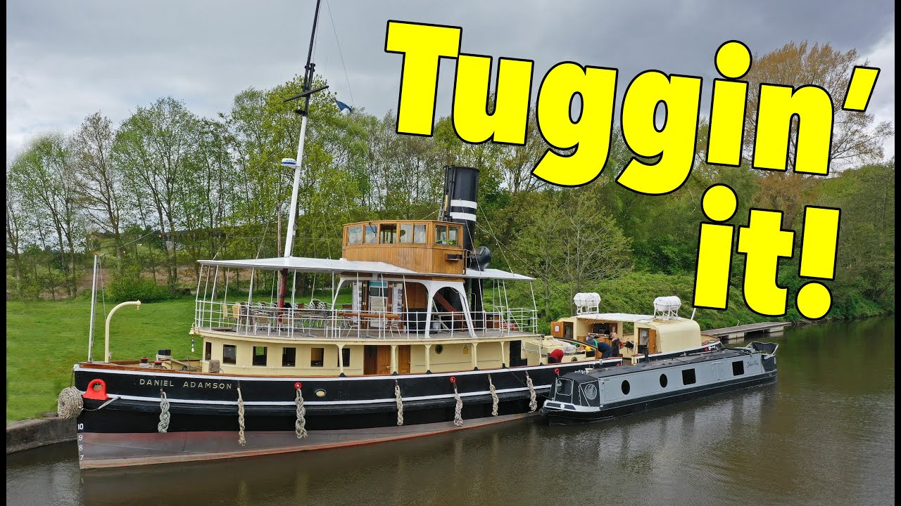 Working the LAST Surviving Steam-Powered Mersey Tug!