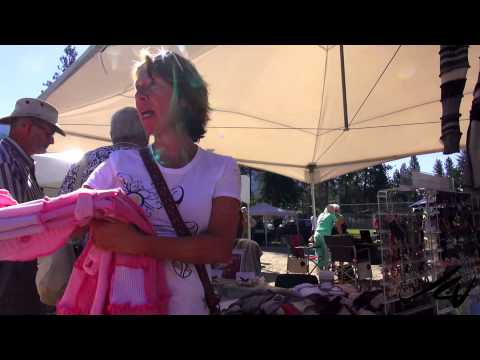 Small town Canada Artisan Fair -  Christina Lake BC -  YouTube