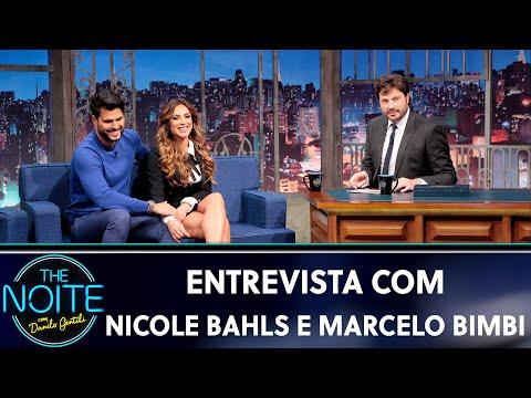 Entrevista com Nicole Bahls e Marcelo Bimbi  The Noite 040919