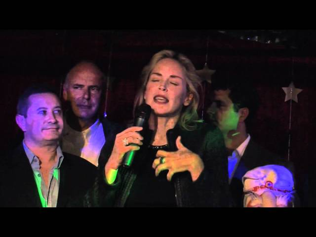 Sharon Stone Talks About