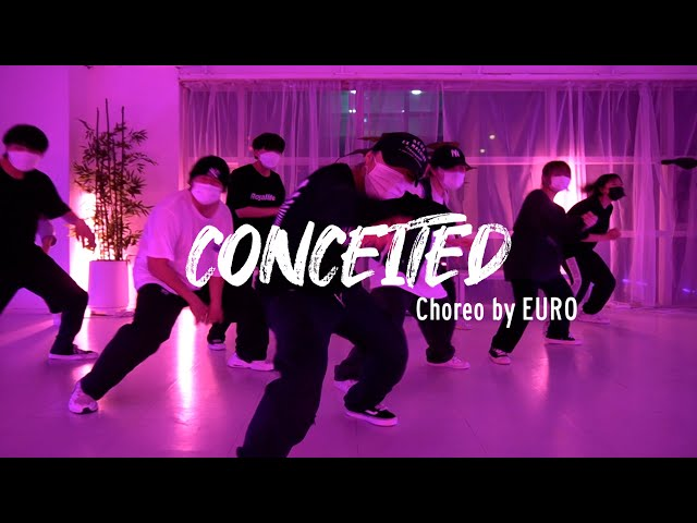 EZDANCE I 동탄점 I 이지댄스 I Remy Ma - 'Conceited' CHOREOGRAPHY by EURO