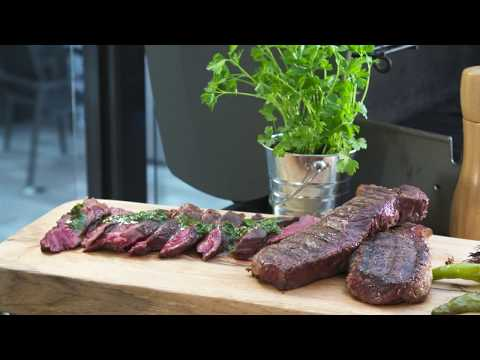 Argentinian Steak With Chimichurri Recipe From Chef Mike Ward