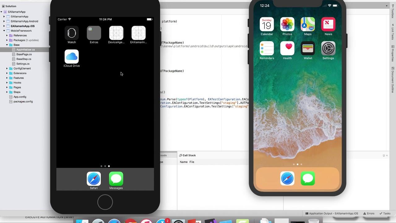 Running Xamarin UITest on specific iOS Simulator