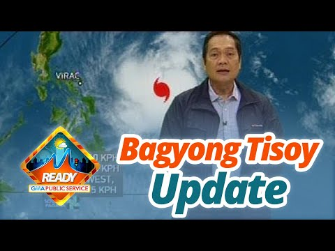 BT: Bagyong Tisoy Weather Update As Of 12:06 P.m. (December 1, 2019)