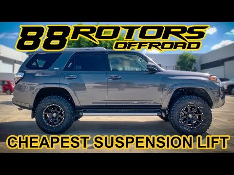 5th Gen Toyota 4Runner Cheapest (Least Expensive) Suspension Lift!