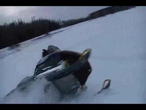 Ski-doo Summit Jumps and Boondocking