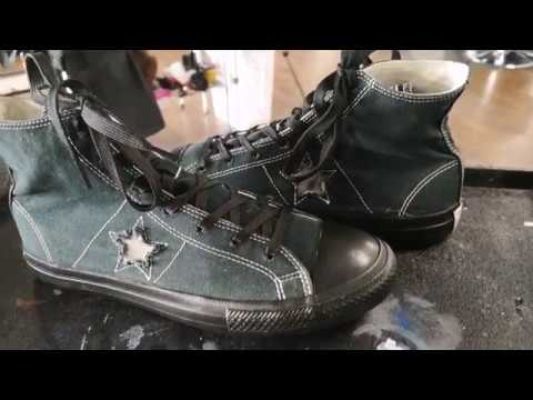 Sneaker Cleaning: Converse One Star