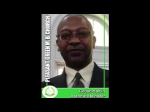Pleasant Green School Lesson 11-22-2020, Minister, Cedric Hardin