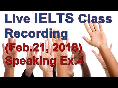 IELTS Speaking Strategies and Example