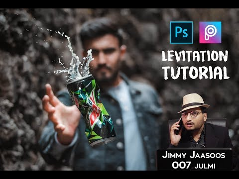 Levitating Objects | Photoshop And Picsart Levitation Tutorial | Inside Motion Pictures | 2019
