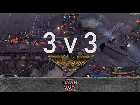 Dawn Of War 2 - 3v3   Torpid + VindicareX + Adila [vs] Toilailee + Bruce Campbell + Big Mathis